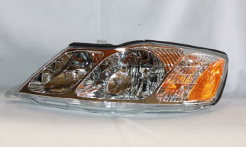 TYC - Headlight (Left) - TYC 20-5854-00