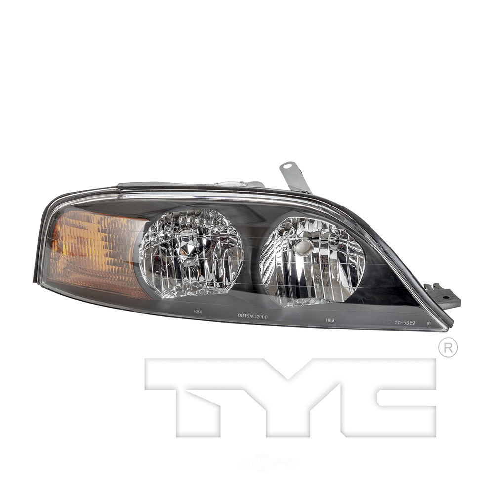 TYC - Headlight - TYC 20-5859-01