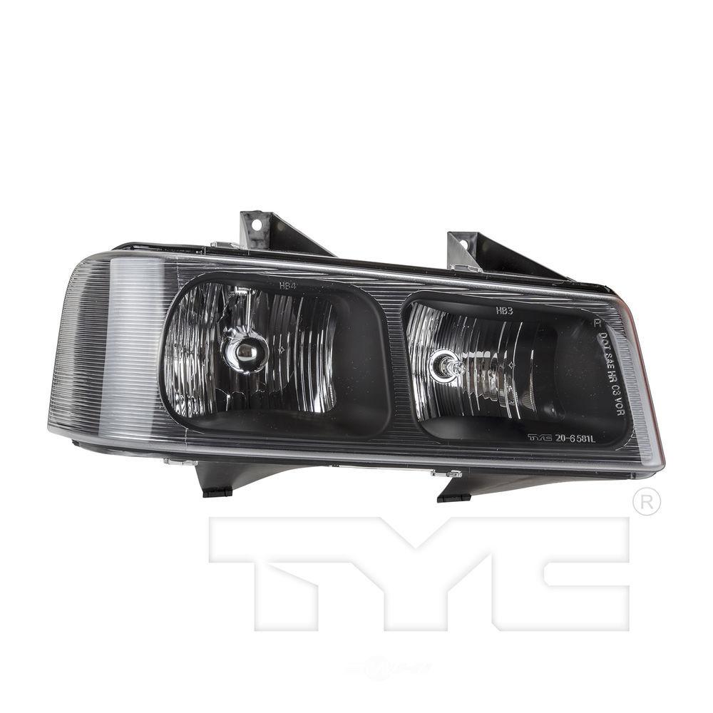 TYC - Capa Certified Headlight - TYC 20-6581-00-9