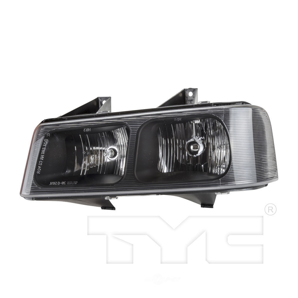 TYC - Capa Certified Headlight - TYC 20-6582-00-9