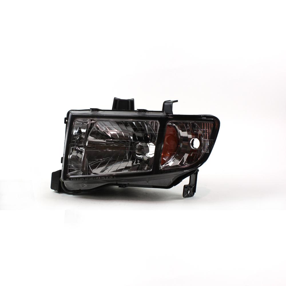 TYC - Headlight - TYC 20-6672-01