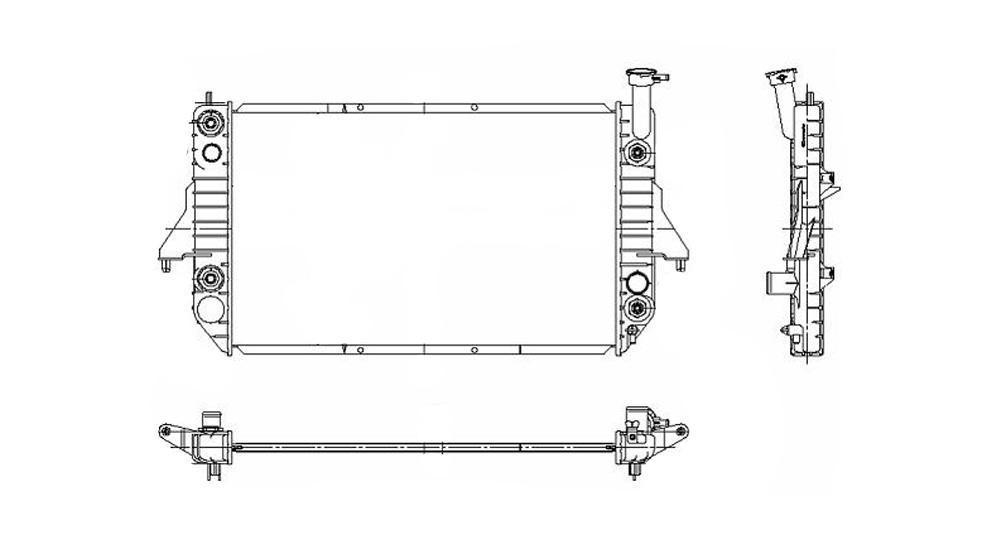 TYC - Radiator Assembly - TYC 2003