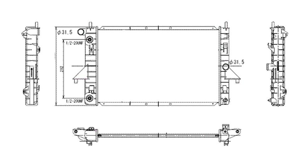 TYC - Radiator Assembly - TYC 2191