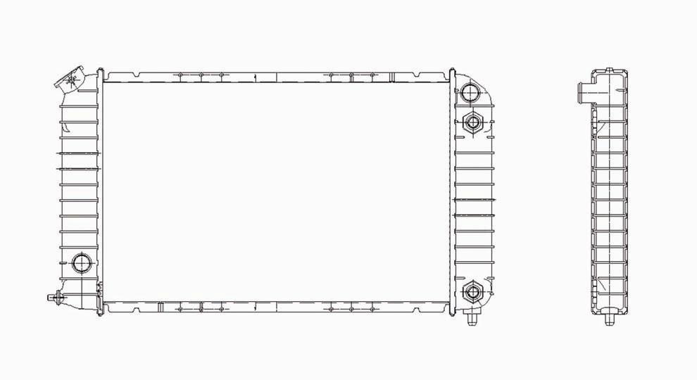 TYC - Radiator Assembly - TYC 2261