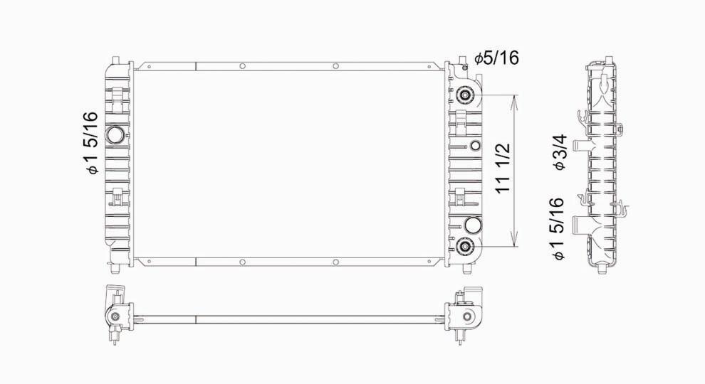 TYC - Radiator Assembly - TYC 2264