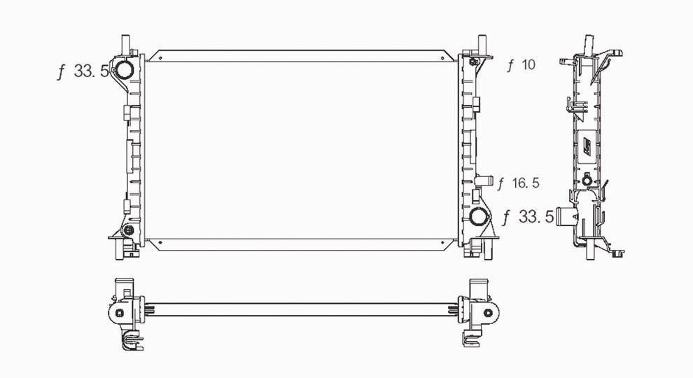 TYC - Radiator Assembly - TYC 2296