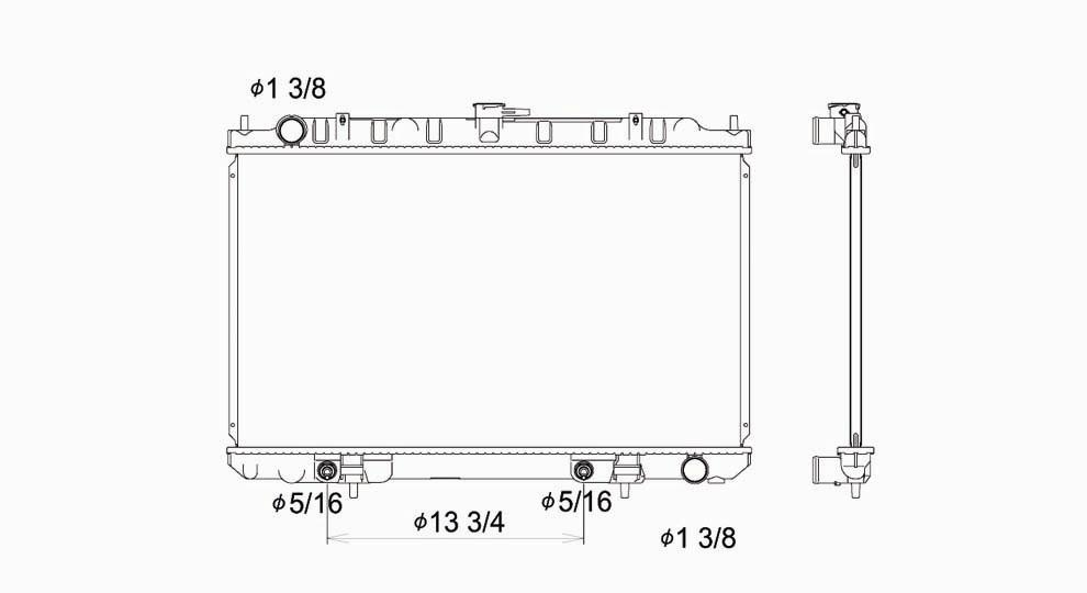 TYC - Radiator Assembly - TYC 2329