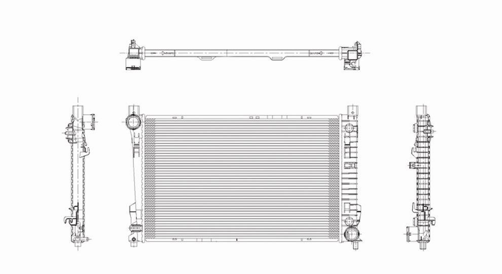 TYC - Radiator Assembly - TYC 2337