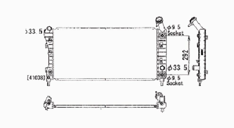 TYC - Radiator Assembly - TYC 2710