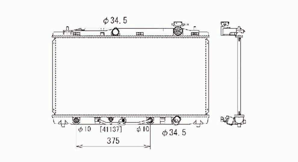 TYC - TYC Radiator - TYC 2817
