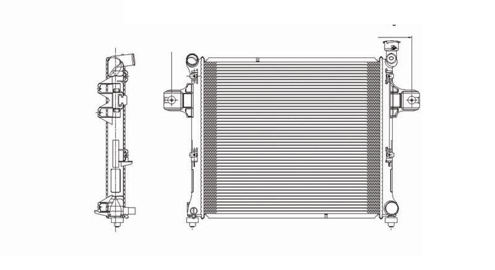 TYC - Radiator Assembly - TYC 2839