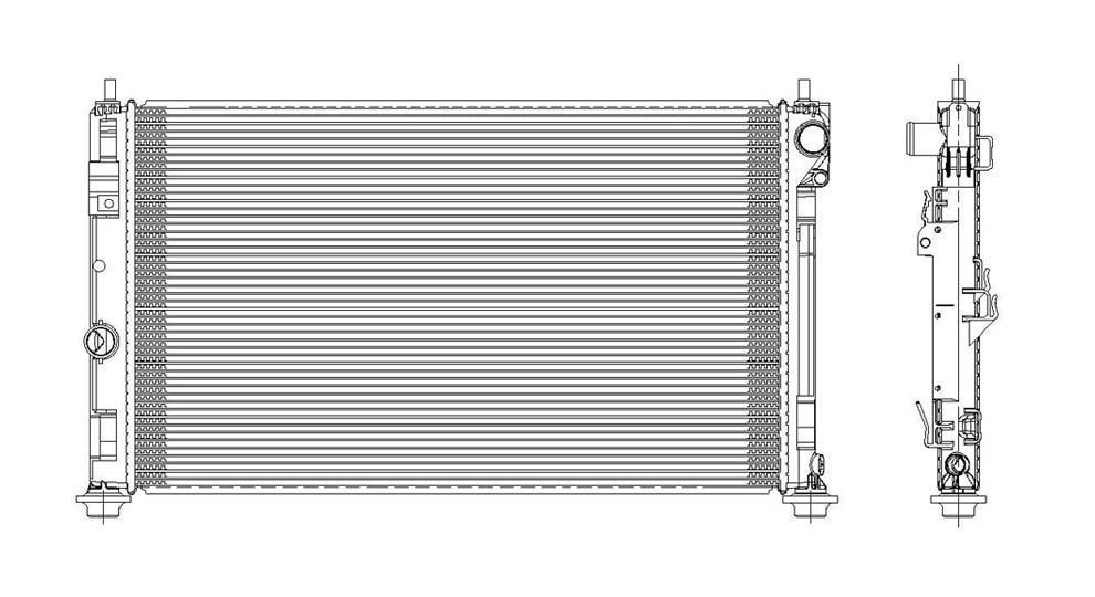 TYC - Radiator Assembly - TYC 2951