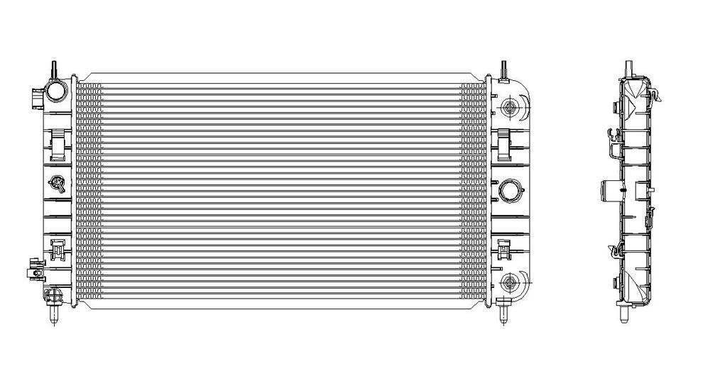 TYC - Radiator Assembly - TYC 2972