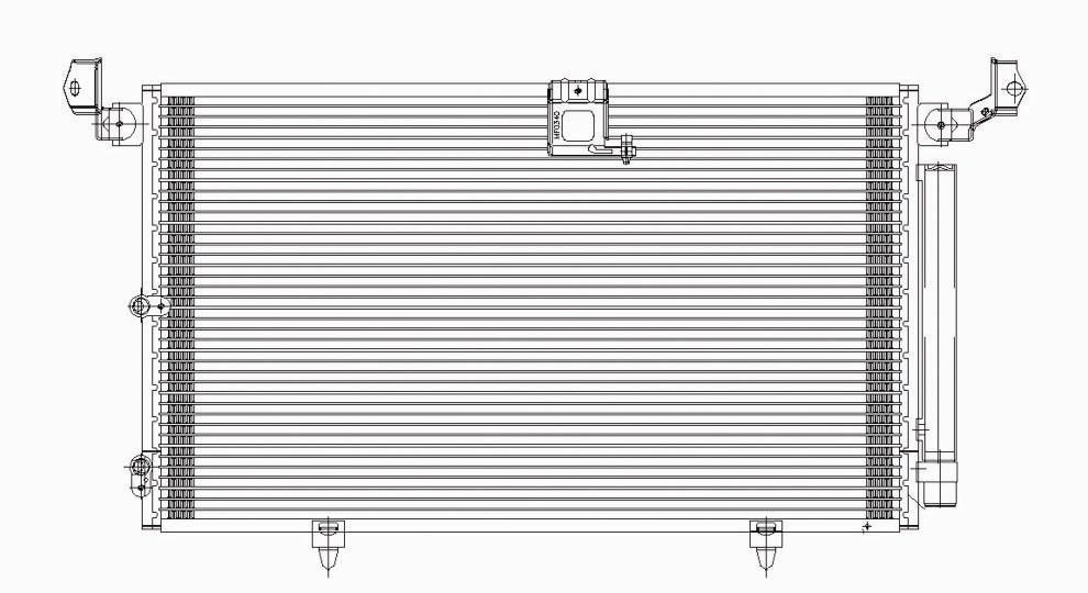 TYC - A/c Condenser - TYC 4988