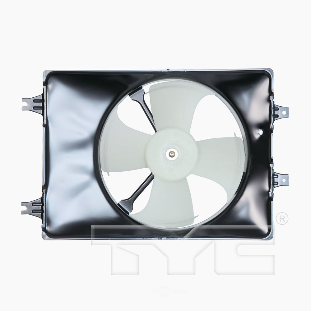 TYC - A/C Condenser Cooling Fan Assembly - TYC 610930