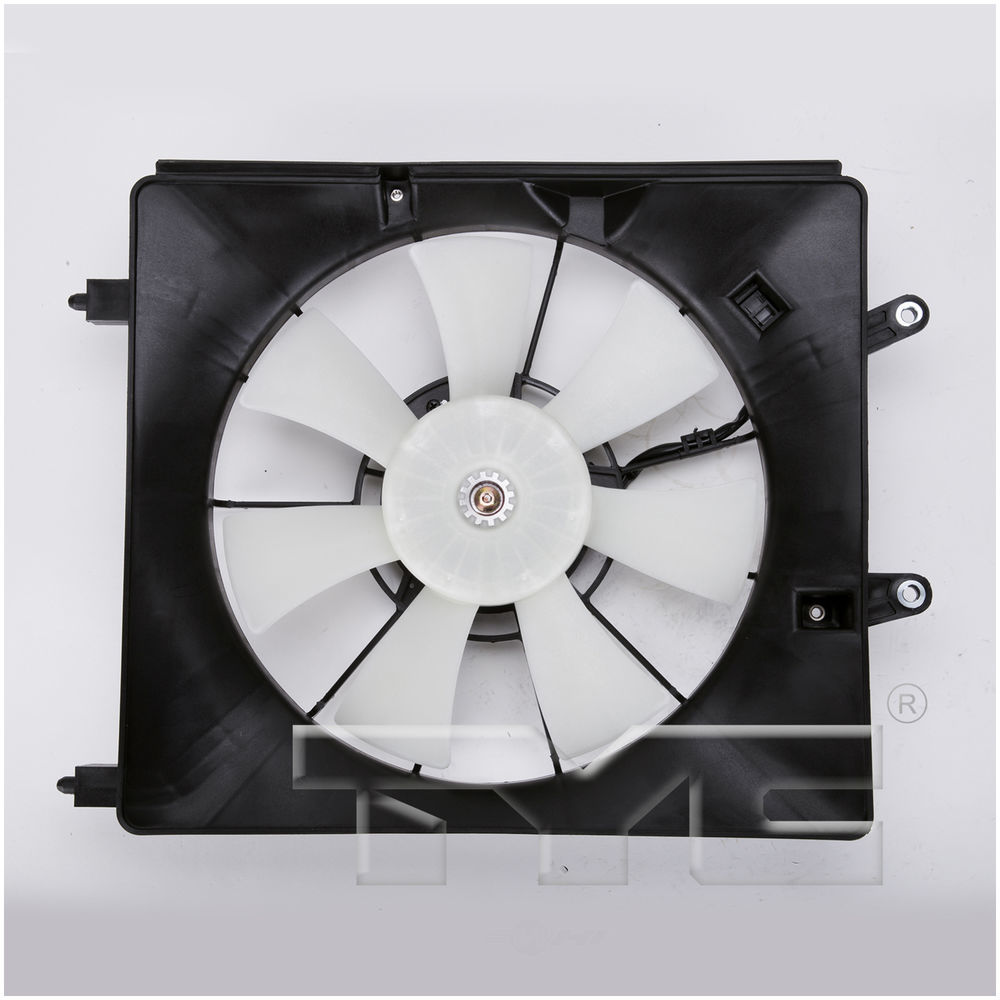 TYC - A/C Condenser Cooling Fan Assembly - TYC 610940