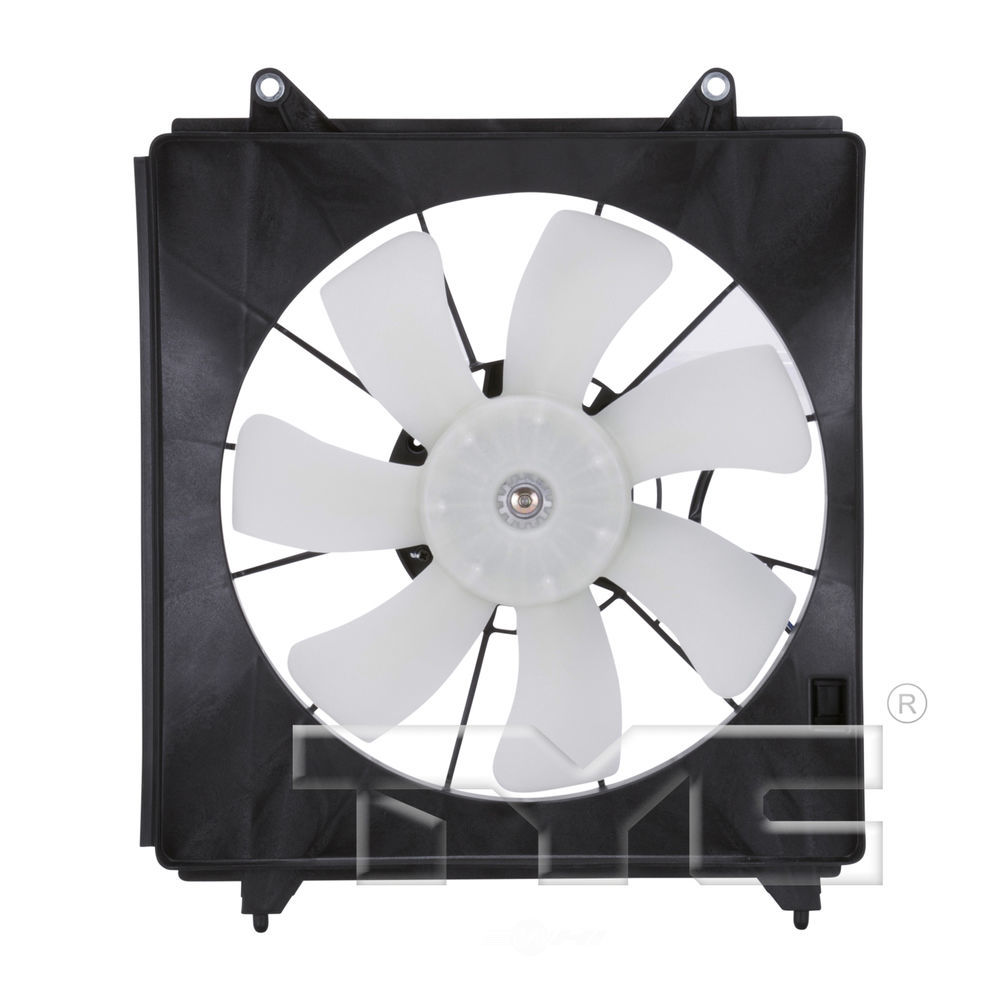 TYC - A\/C Condenser Cooling Fan Assembly - TYC 611130
