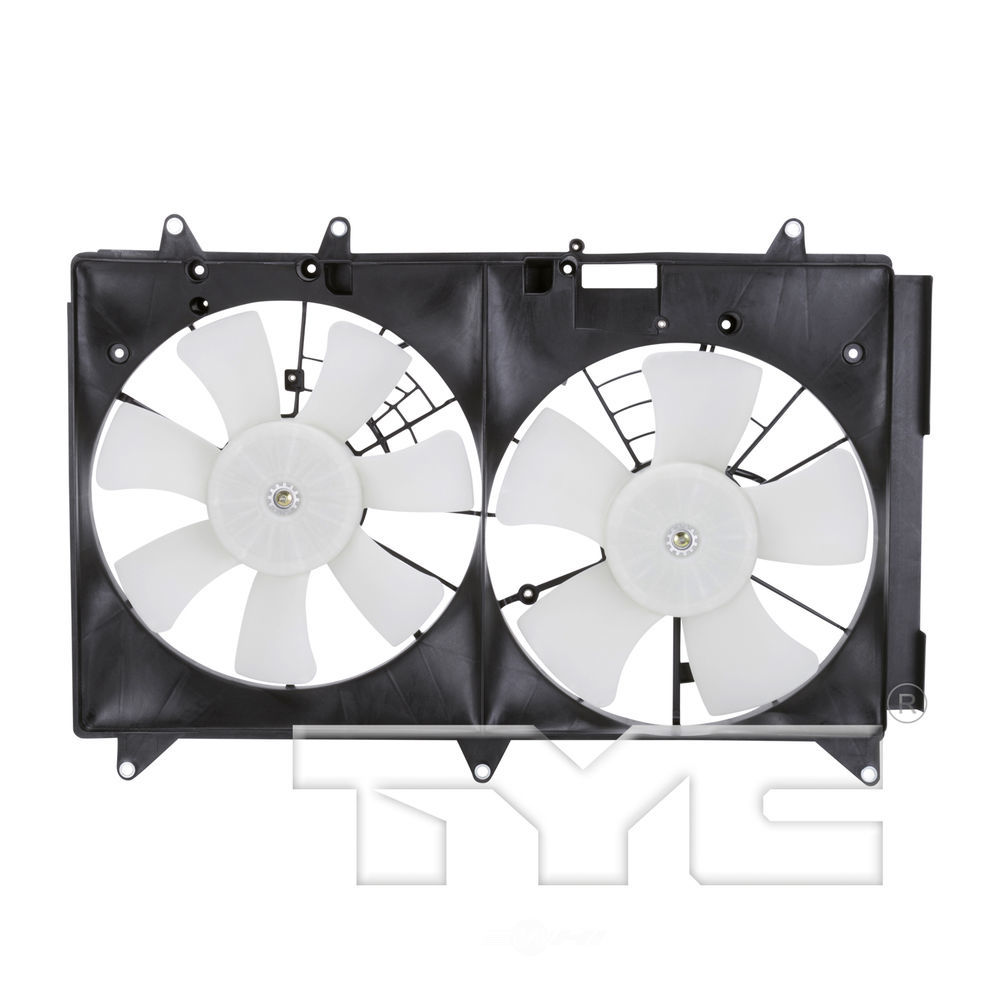 TYC - Dual Radiator And Condenser Fan Assembly - TYC 622510
