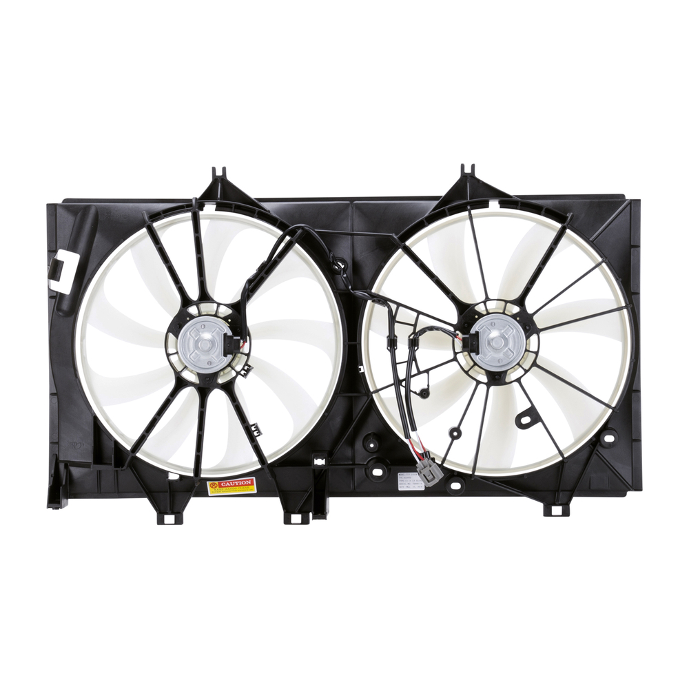 TYC - Dual Radiator And Condenser Fan Assembly - TYC 622950