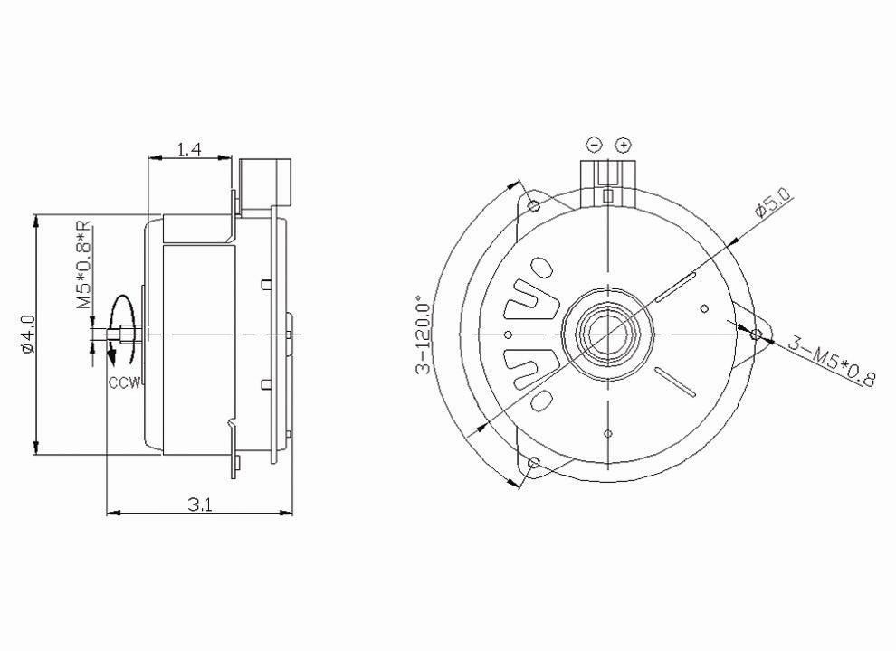TYC - Engine Cooling Fan Motor - TYC 630700