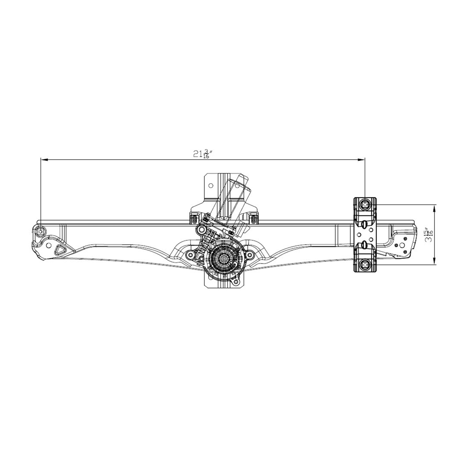 TYC - Power Window Motor And Regulator Assembly (Front Right) - TYC 660585