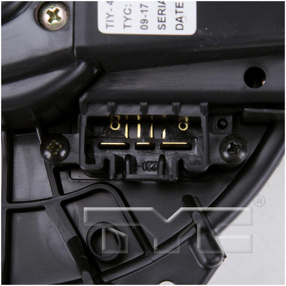TYC - HVAC Blower Motor - TYC 700215