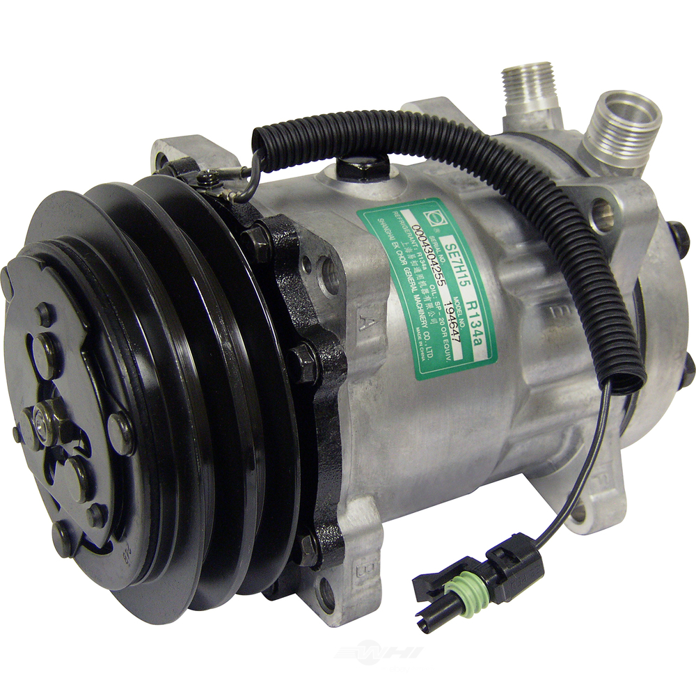UNIVERSAL AIR CONDITIONER, INC. - Sanden Sd510hd Compressor Assembly - UAC CO 4647