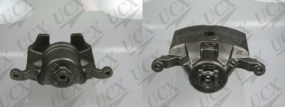 UNDERCAR EXPRESS FRICTION READY - Rebuilt Friction Ready Caliper Single (w/Hdwe & Brkt) - UNX 10-5169S