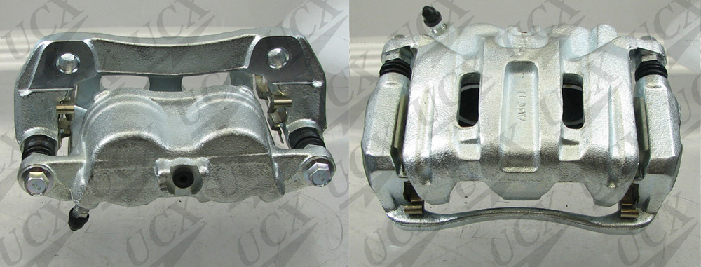 UNDERCAR EXPRESS FRICTION READY - Rebuilt Friction Ready Caliper Single (w/Hdwe & Brkt) - UNX 10-5183S