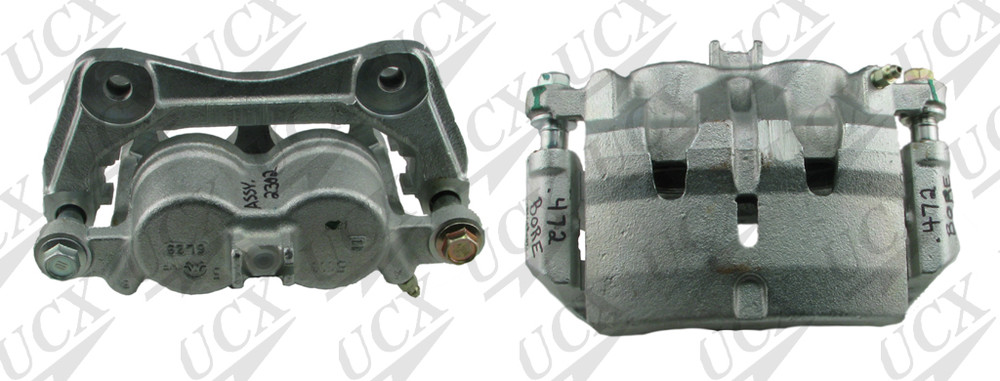 UNDERCAR EXPRESS FRICTION READY - Rebuilt Friction Ready Caliper Single (w/Hdwe & Brkt) - UNX 10-5186S