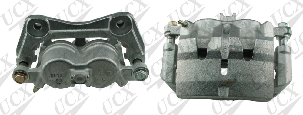 UNDERCAR EXPRESS FRICTION READY - Rebuilt Friction Ready Caliper Single (w/Hdwe & Brkt) - UNX 10-5187S