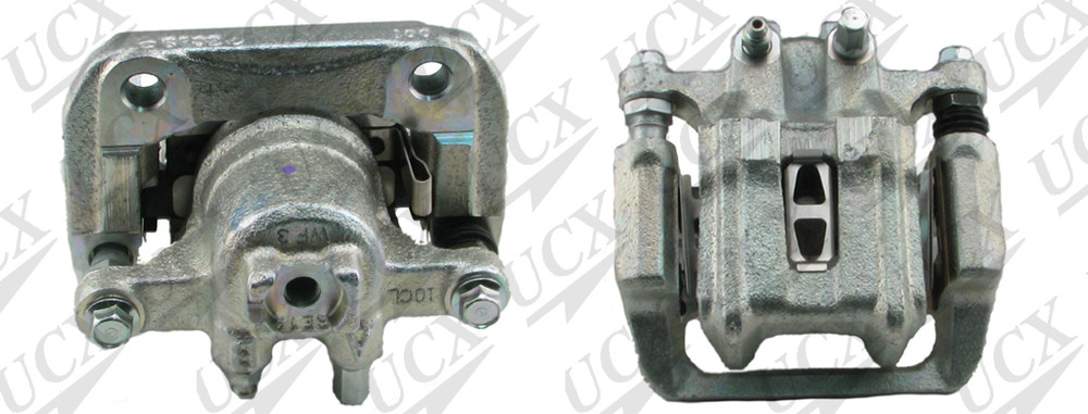 UNDERCAR EXPRESS FRICTION READY - Rebuilt Friction Ready Caliper Single (w/Hdwe & Brkt) - UNX 10-5193S