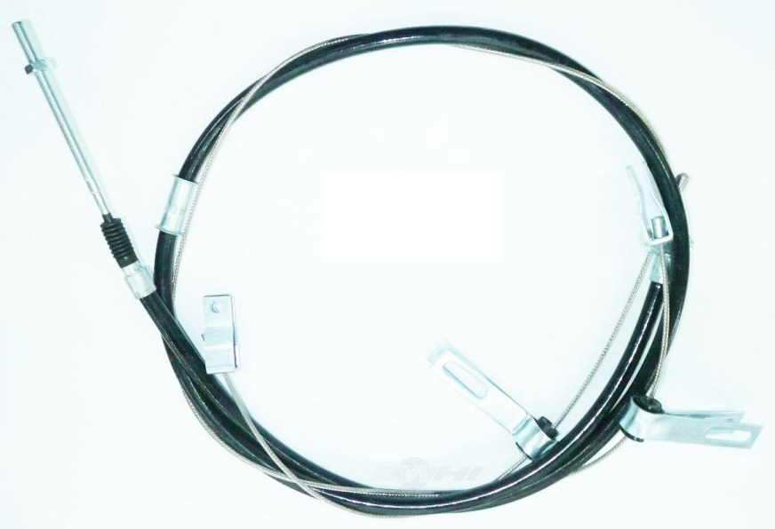 WORLDPARTS BRAKE CABLES - Stainless Steel Brake Cable (Rear) - WBC 3225185