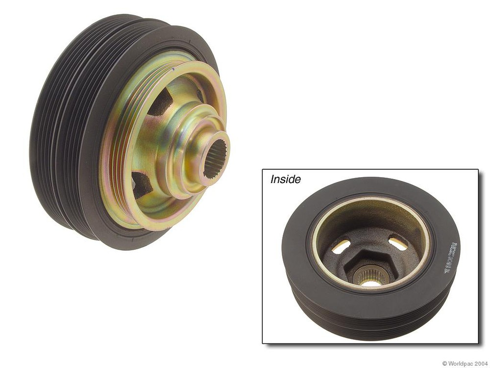 GENUINE - Engine Crankshaft Pulley - WDC W0133-1599529