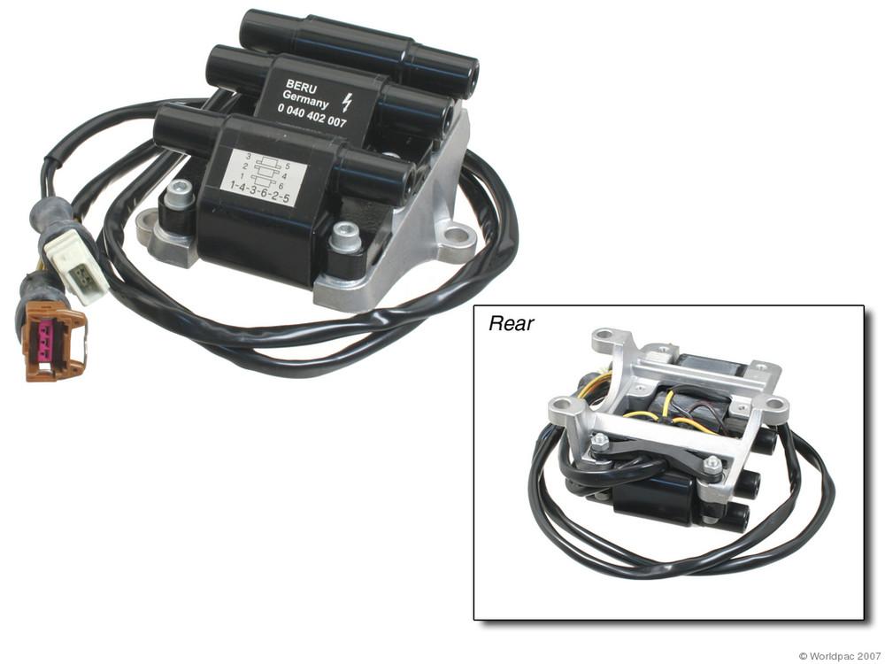 BERU - Ignition Coil - WDC W0133-1600351