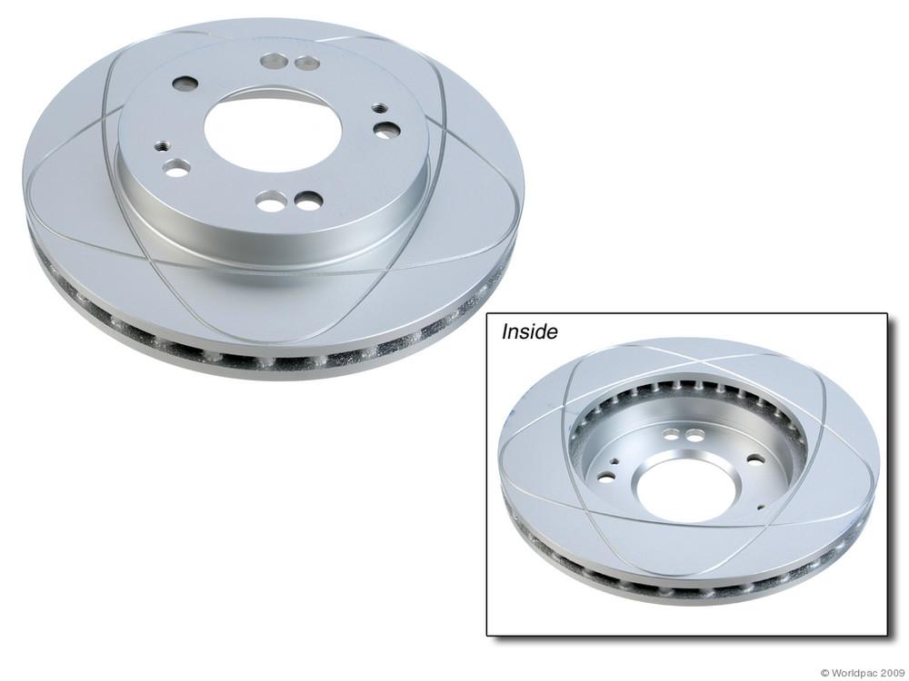 ATE PREMIUM ONE - Disc Brake Rotor - WDC W0133-1605276