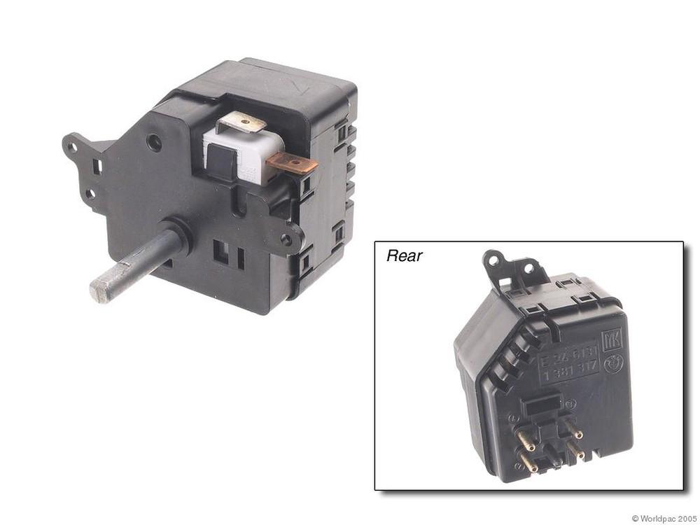 GENUINE - HVAC Blower Fan Switch - WDC W0133-1605624