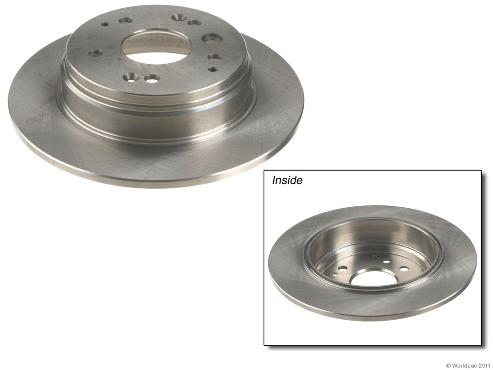 ATE PREMIUM ONE - Disc Brake Rotor - WDC W0133-1609071