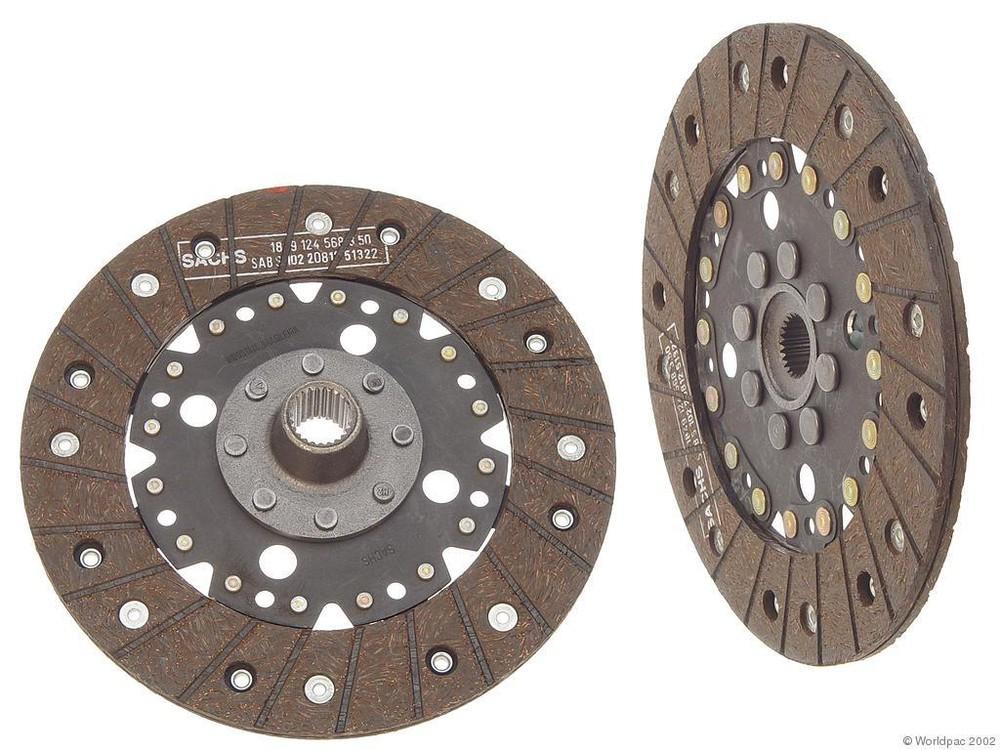 AMORTEX - Clutch Friction Disc - WDC W0133-1623984