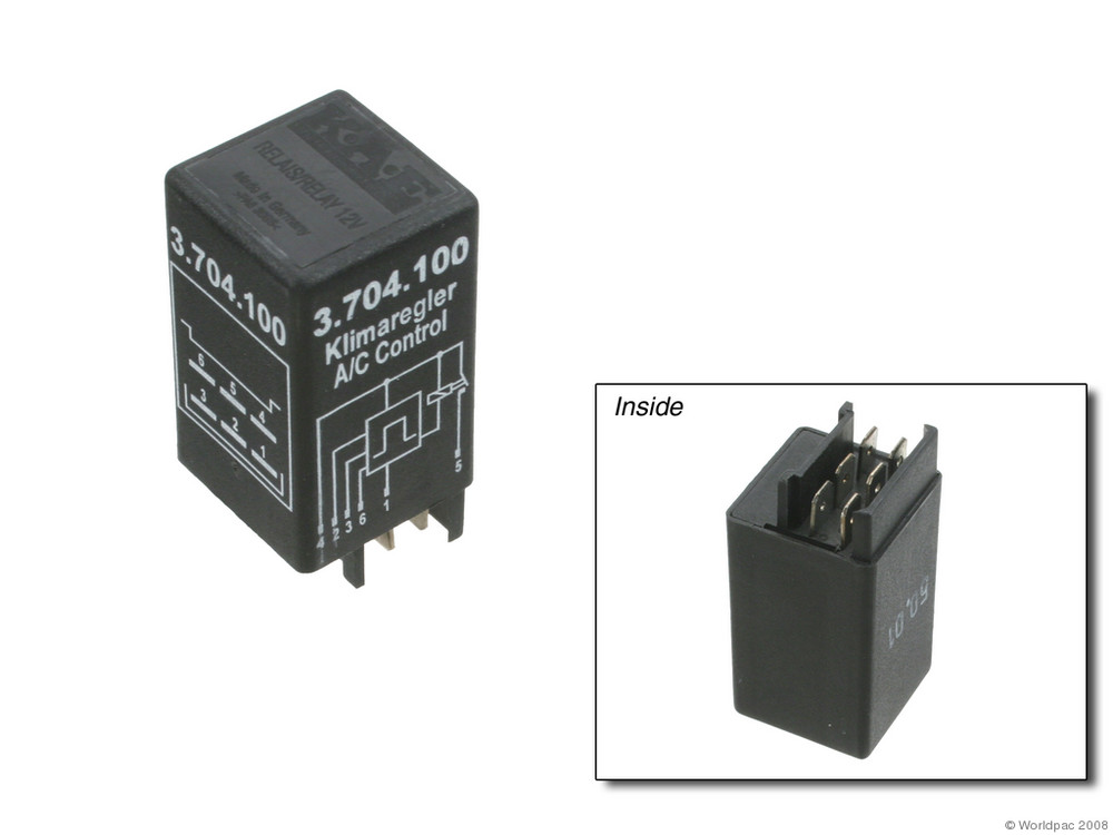 KAEHLER - A\/C Compressor Control Relay - WDC W0133-1624322