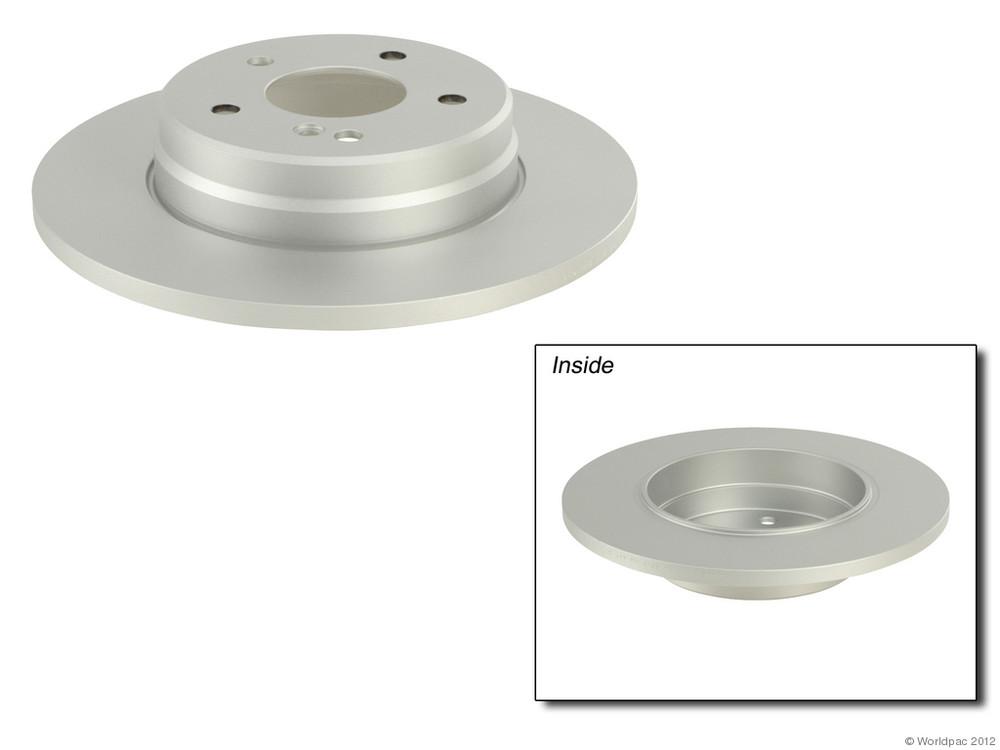 BALO COATED - Disc Brake Rotor - WDC W0133-1624552