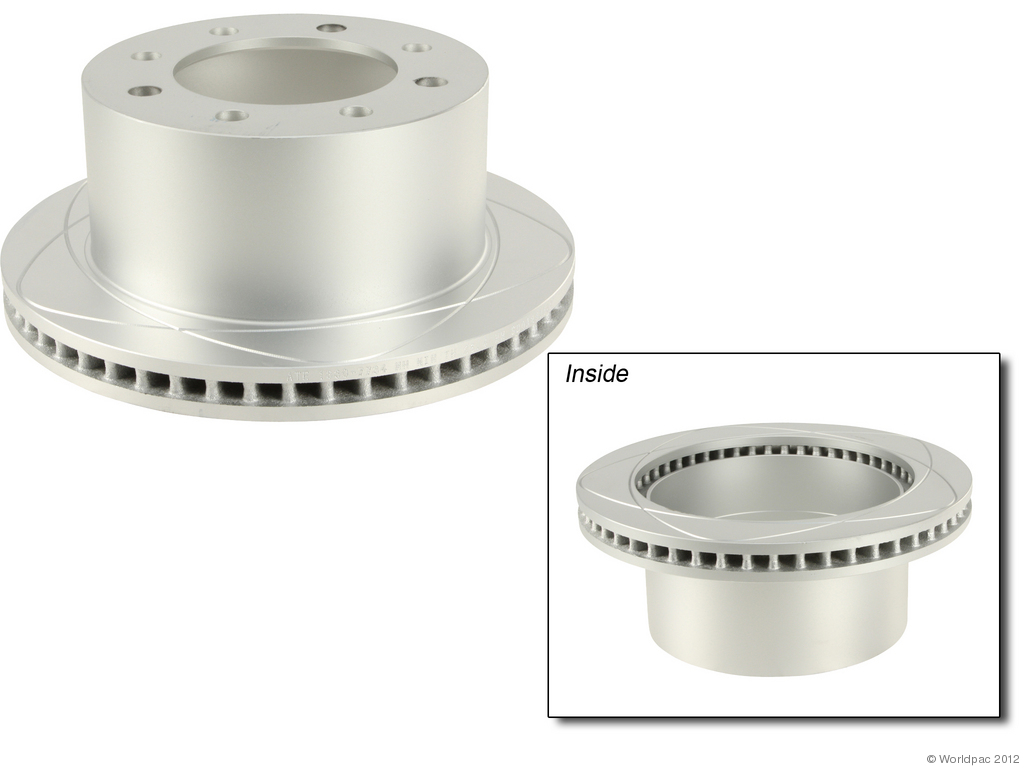 ATE PREMIUM ONE - Disc Brake Rotor - WDC W0133-1677393