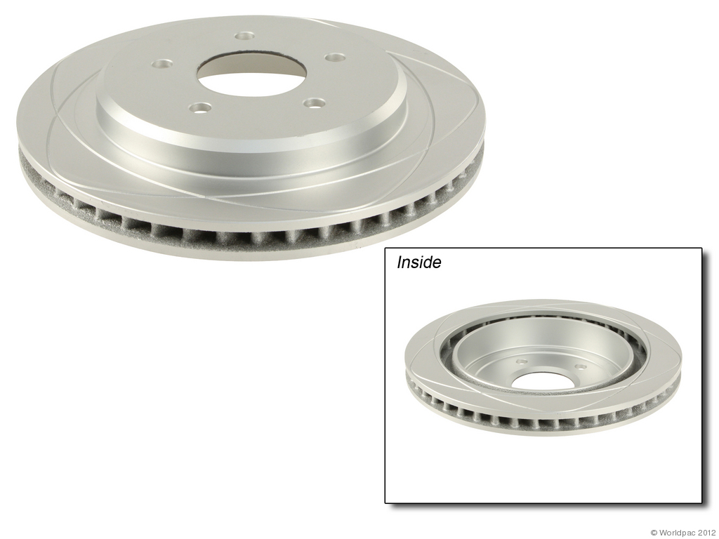 ATE PREMIUM ONE - Disc Brake Rotor - WDC W0133-1690421