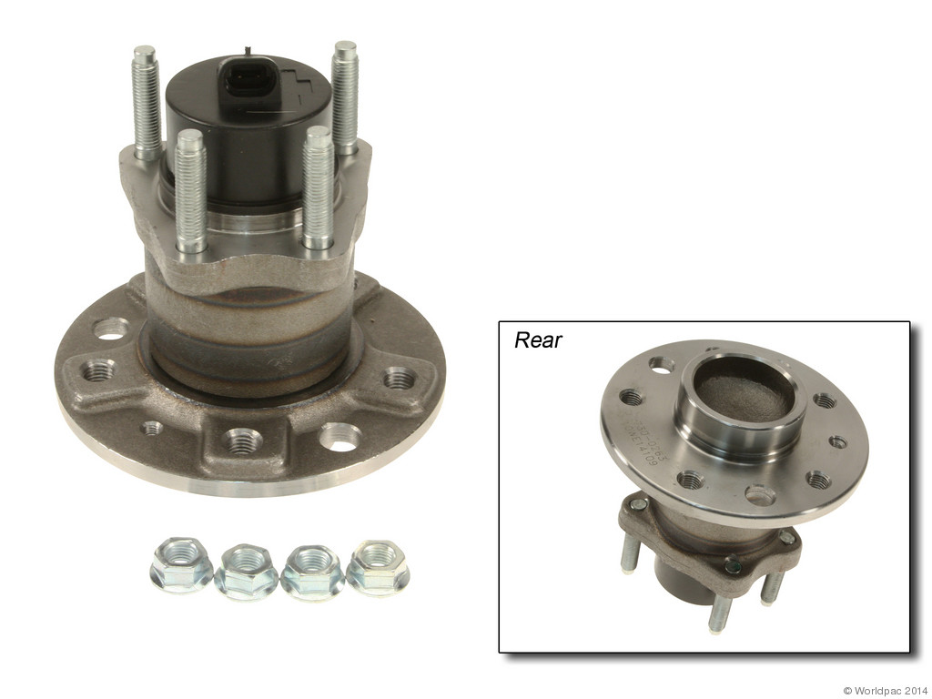 FBS - GMB Wheel Hub Assembly (Rear) - B2C W0133-1607773-GMB