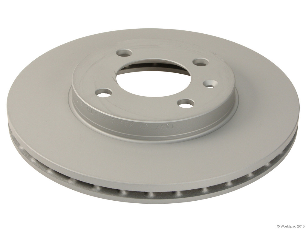 FBS - Zimmermann Coat-Z Anti-Corrosion Brake Disc (Front) - B2C W0133-1616738-ZIC