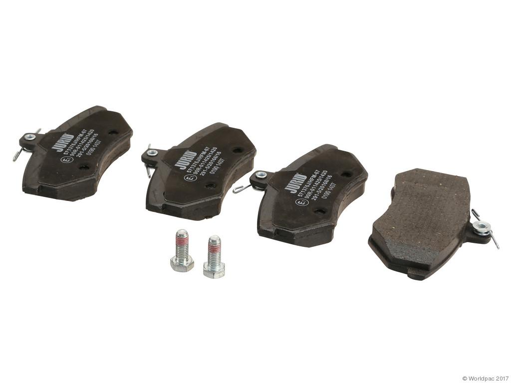FBS - Jurid OE Formulated Brake Pad Set w/ Shims (Front) - B2C W0133-1621532-JUR
