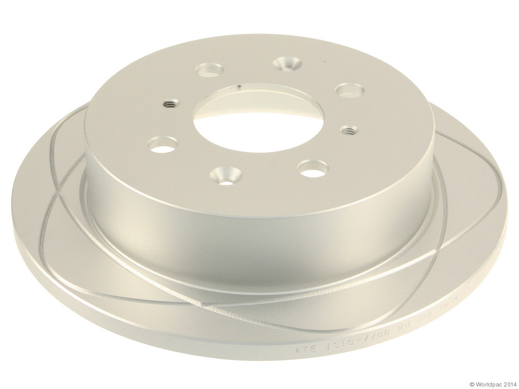 FBS - ATE Premium One Brake Disc Coated / Gas Slotted (Rear) - B2C W0133-1623439-APO
