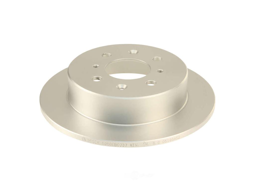 Bosch -  QuietCast Premium Coated Brake Disc (Rear) - B2C W0133-1623439-BOS