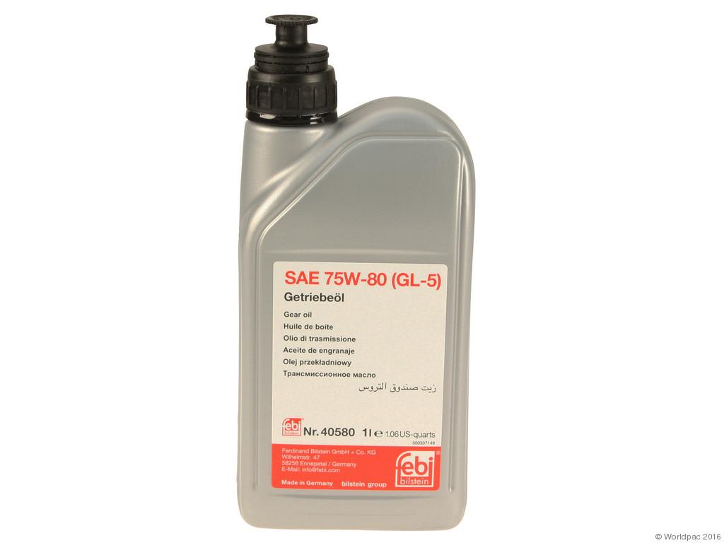FBS - Febi Conventional Mineral Manual Trans Fluid 75W80 GL-5 1 Liter - B2C W0133-1633867-FEB