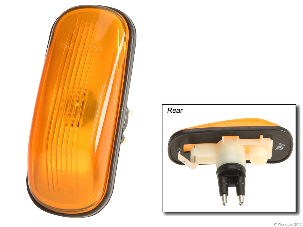 FBS - Professional Parts Sweden SAE/DOT Approved Turn Signal Light Amber - B2C W0133-1634797-PPS